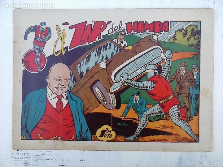 Tebeos: ROCK ROBOT ORIGINAL TORAY 1957 - 31 NºS MUY BUEN ESTADO, VER TODAS LAS PORTADAS - Foto 13 - 105049295