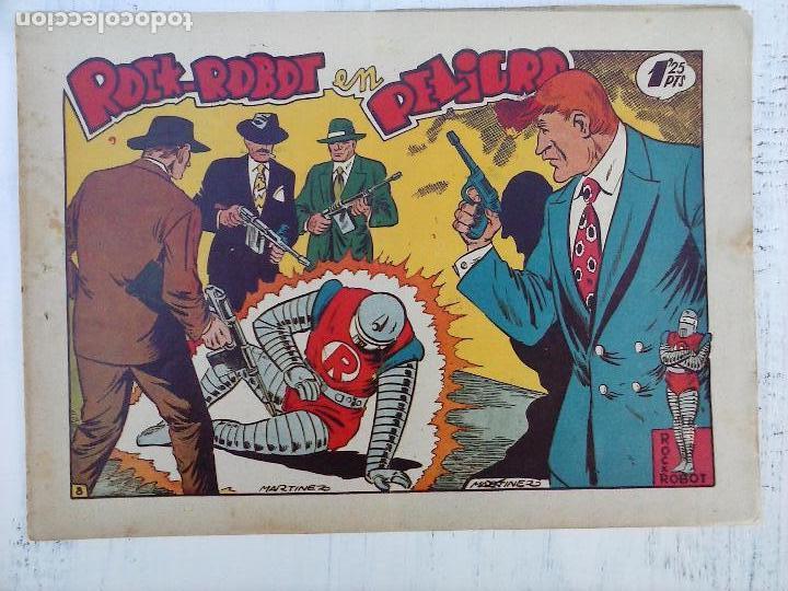 Tebeos: ROCK ROBOT ORIGINAL TORAY 1957 - 31 NºS MUY BUEN ESTADO, VER TODAS LAS PORTADAS - Foto 14 - 105049295