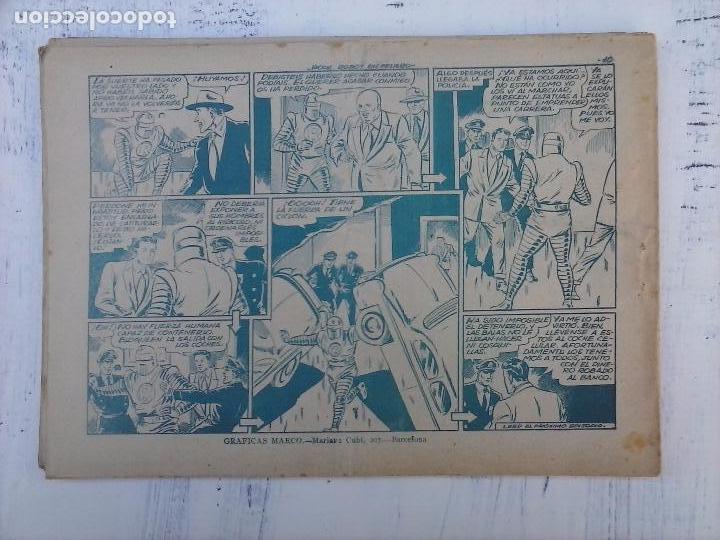 Tebeos: ROCK ROBOT ORIGINAL TORAY 1957 - 31 NºS MUY BUEN ESTADO, VER TODAS LAS PORTADAS - Foto 18 - 105049295