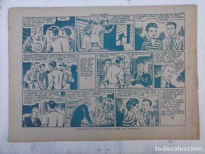 Tebeos: ROCK ROBOT ORIGINAL TORAY 1957 - 31 NºS MUY BUEN ESTADO, VER TODAS LAS PORTADAS - Foto 26 - 105049295