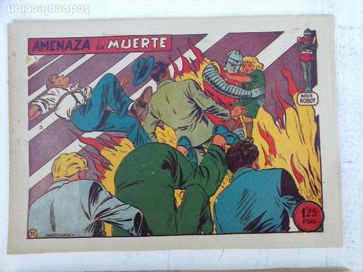 Tebeos: ROCK ROBOT ORIGINAL TORAY 1957 - 31 NºS MUY BUEN ESTADO, VER TODAS LAS PORTADAS - Foto 27 - 105049295
