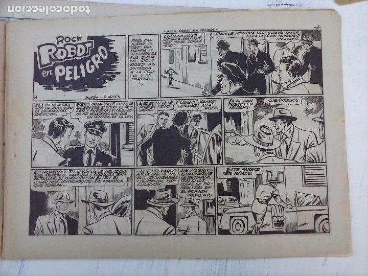 Tebeos: ROCK ROBOT ORIGINAL TORAY 1957 - 31 NºS MUY BUEN ESTADO, VER TODAS LAS PORTADAS - Foto 28 - 105049295