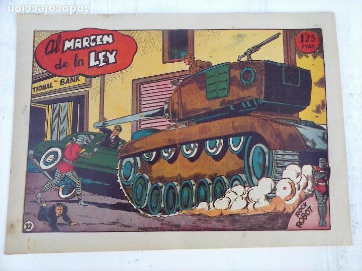 Tebeos: ROCK ROBOT ORIGINAL TORAY 1957 - 31 NºS MUY BUEN ESTADO, VER TODAS LAS PORTADAS - Foto 39 - 105049295