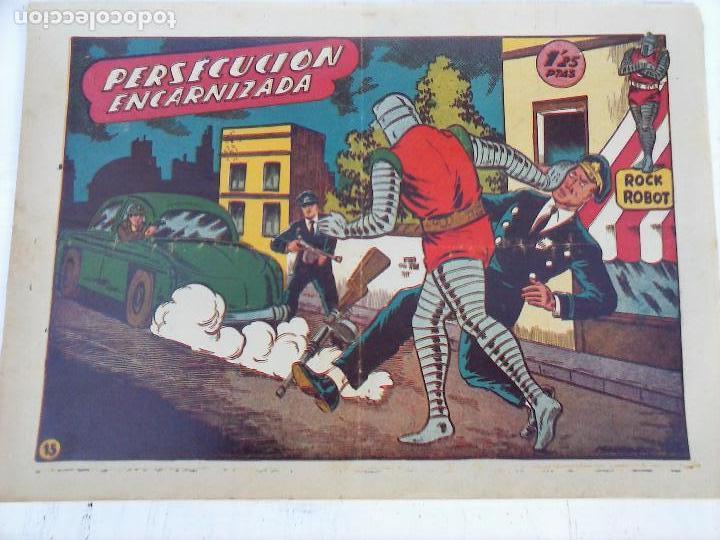 Tebeos: ROCK ROBOT ORIGINAL TORAY 1957 - 31 NºS MUY BUEN ESTADO, VER TODAS LAS PORTADAS - Foto 48 - 105049295