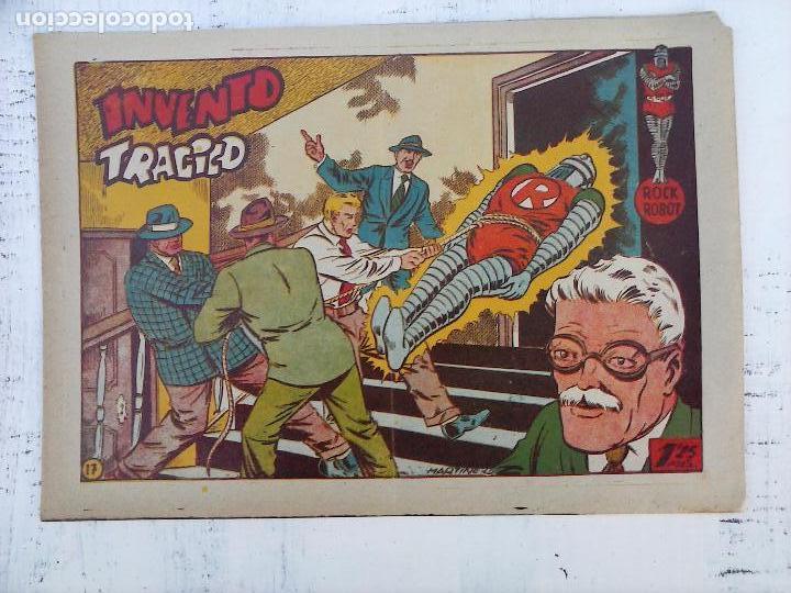 Tebeos: ROCK ROBOT ORIGINAL TORAY 1957 - 31 NºS MUY BUEN ESTADO, VER TODAS LAS PORTADAS - Foto 51 - 105049295
