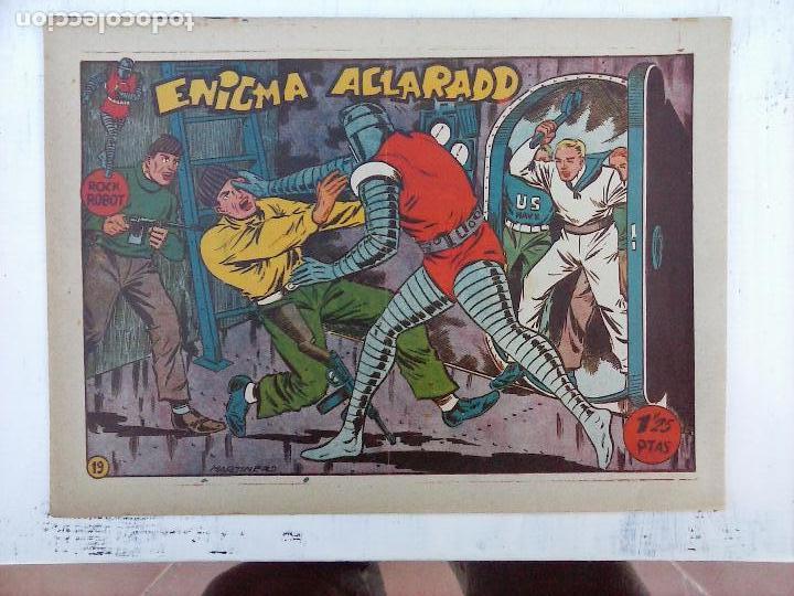 Tebeos: ROCK ROBOT ORIGINAL TORAY 1957 - 31 NºS MUY BUEN ESTADO, VER TODAS LAS PORTADAS - Foto 53 - 105049295