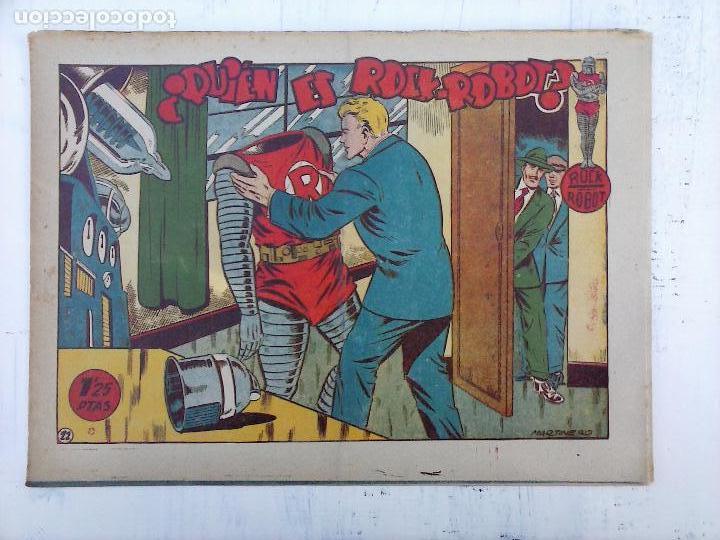 Tebeos: ROCK ROBOT ORIGINAL TORAY 1957 - 31 NºS MUY BUEN ESTADO, VER TODAS LAS PORTADAS - Foto 54 - 105049295