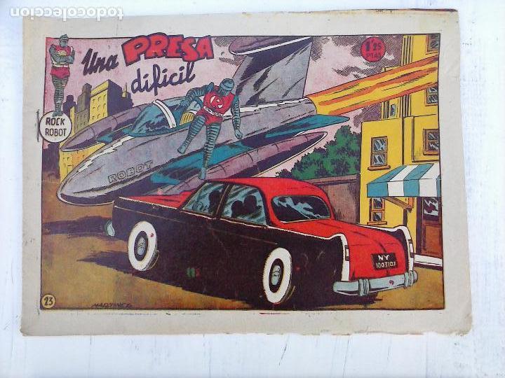 Tebeos: ROCK ROBOT ORIGINAL TORAY 1957 - 31 NºS MUY BUEN ESTADO, VER TODAS LAS PORTADAS - Foto 55 - 105049295