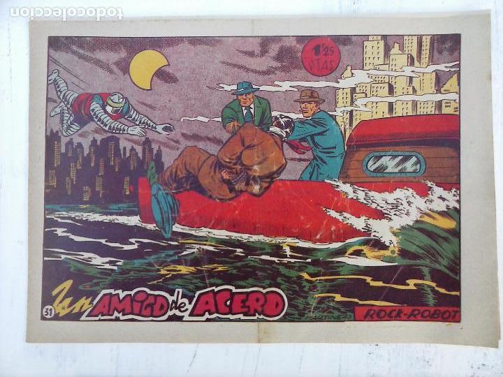Tebeos: ROCK ROBOT ORIGINAL TORAY 1957 - 31 NºS MUY BUEN ESTADO, VER TODAS LAS PORTADAS - Foto 57 - 105049295
