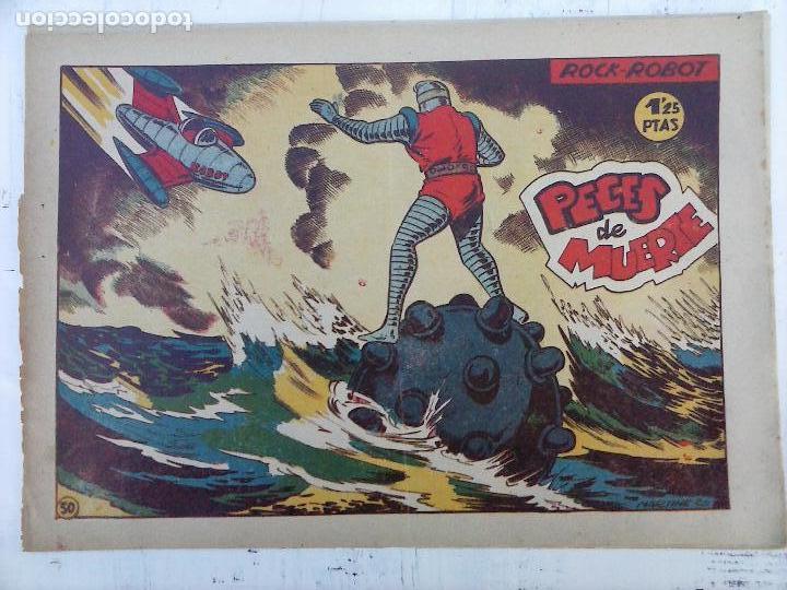 Tebeos: ROCK ROBOT ORIGINAL TORAY 1957 - 31 NºS MUY BUEN ESTADO, VER TODAS LAS PORTADAS - Foto 58 - 105049295