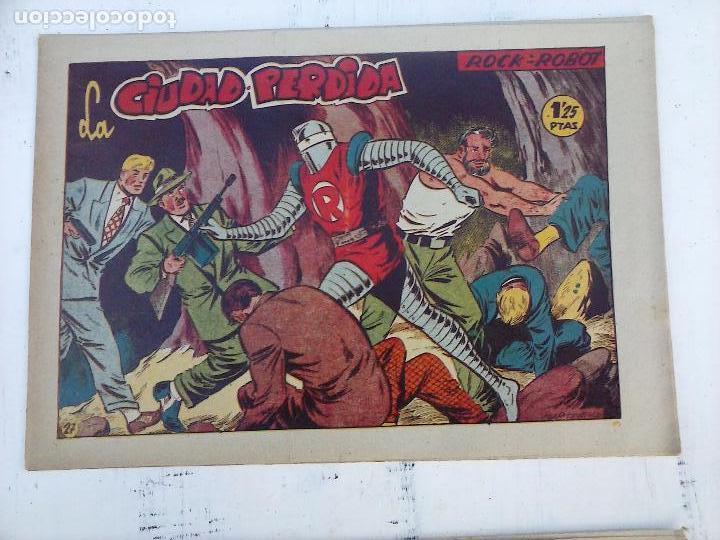 Tebeos: ROCK ROBOT ORIGINAL TORAY 1957 - 31 NºS MUY BUEN ESTADO, VER TODAS LAS PORTADAS - Foto 61 - 105049295