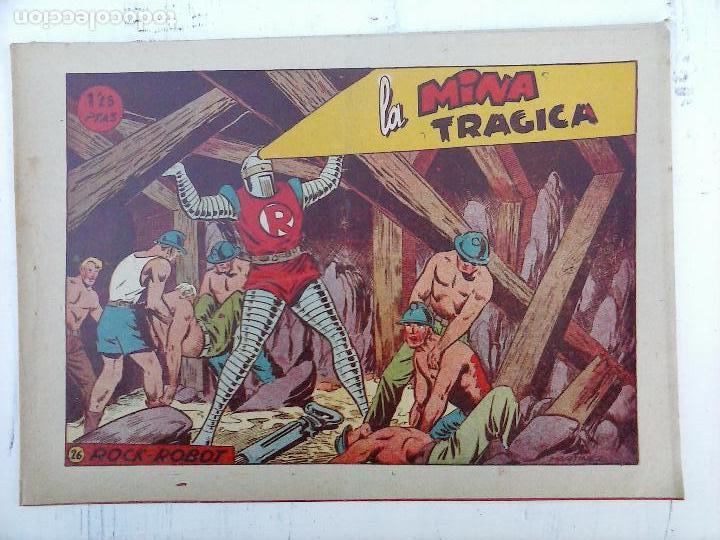 Tebeos: ROCK ROBOT ORIGINAL TORAY 1957 - 31 NºS MUY BUEN ESTADO, VER TODAS LAS PORTADAS - Foto 62 - 105049295