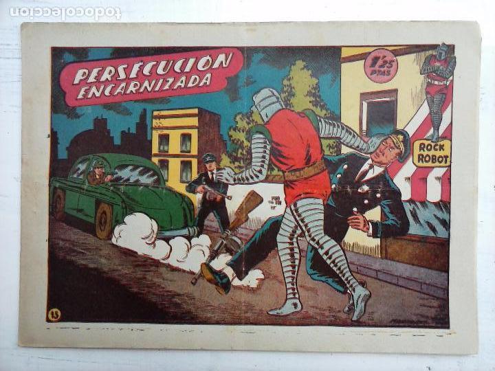 Tebeos: ROCK ROBOT ORIGINAL TORAY 1957 - 31 NºS MUY BUEN ESTADO, VER TODAS LAS PORTADAS - Foto 64 - 105049295
