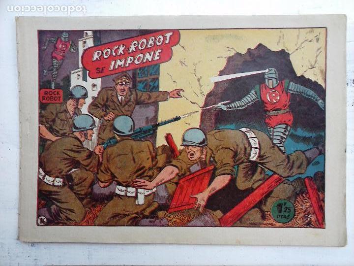 Tebeos: ROCK ROBOT ORIGINAL TORAY 1957 - 31 NºS MUY BUEN ESTADO, VER TODAS LAS PORTADAS - Foto 66 - 105049295