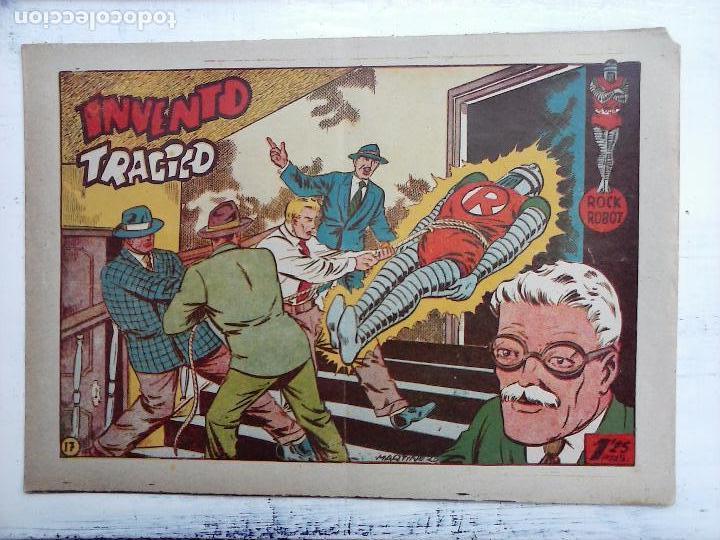 Tebeos: ROCK ROBOT ORIGINAL TORAY 1957 - 31 NºS MUY BUEN ESTADO, VER TODAS LAS PORTADAS - Foto 67 - 105049295
