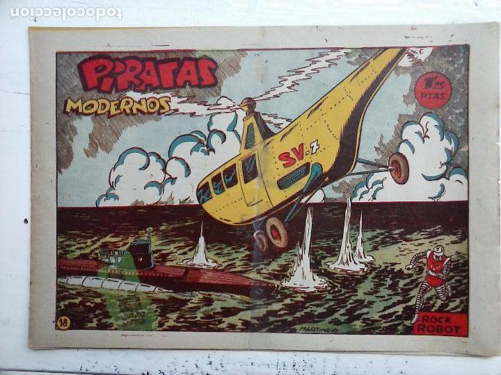 Tebeos: ROCK ROBOT ORIGINAL TORAY 1957 - 31 NºS MUY BUEN ESTADO, VER TODAS LAS PORTADAS - Foto 68 - 105049295