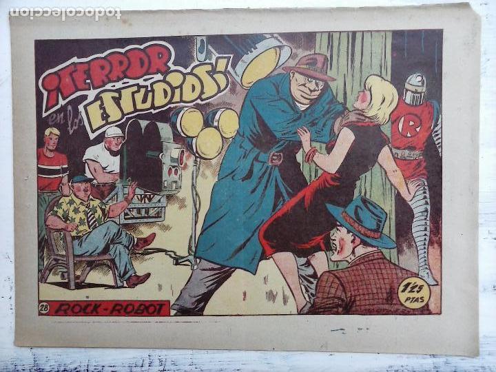 Tebeos: ROCK ROBOT ORIGINAL TORAY 1957 - 31 NºS MUY BUEN ESTADO, VER TODAS LAS PORTADAS - Foto 74 - 105049295