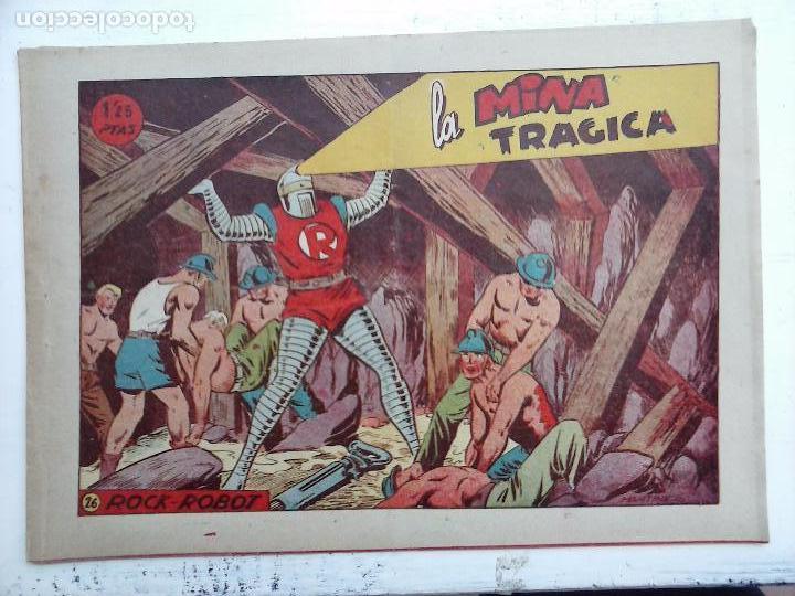 Tebeos: ROCK ROBOT ORIGINAL TORAY 1957 - 31 NºS MUY BUEN ESTADO, VER TODAS LAS PORTADAS - Foto 79 - 105049295