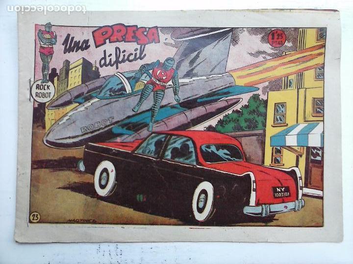 Tebeos: ROCK ROBOT ORIGINAL TORAY 1957 - 31 NºS MUY BUEN ESTADO, VER TODAS LAS PORTADAS - Foto 81 - 105049295