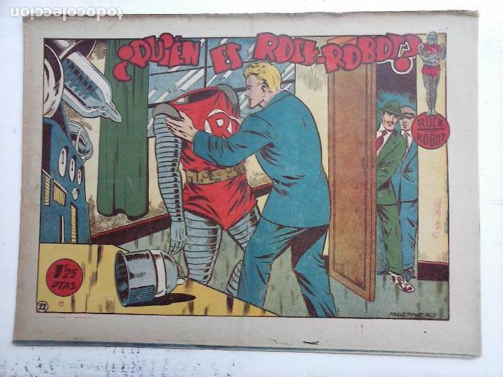 Tebeos: ROCK ROBOT ORIGINAL TORAY 1957 - 31 NºS MUY BUEN ESTADO, VER TODAS LAS PORTADAS - Foto 82 - 105049295