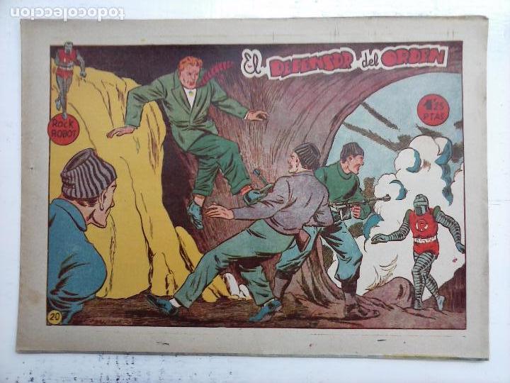 Tebeos: ROCK ROBOT ORIGINAL TORAY 1957 - 31 NºS MUY BUEN ESTADO, VER TODAS LAS PORTADAS - Foto 84 - 105049295