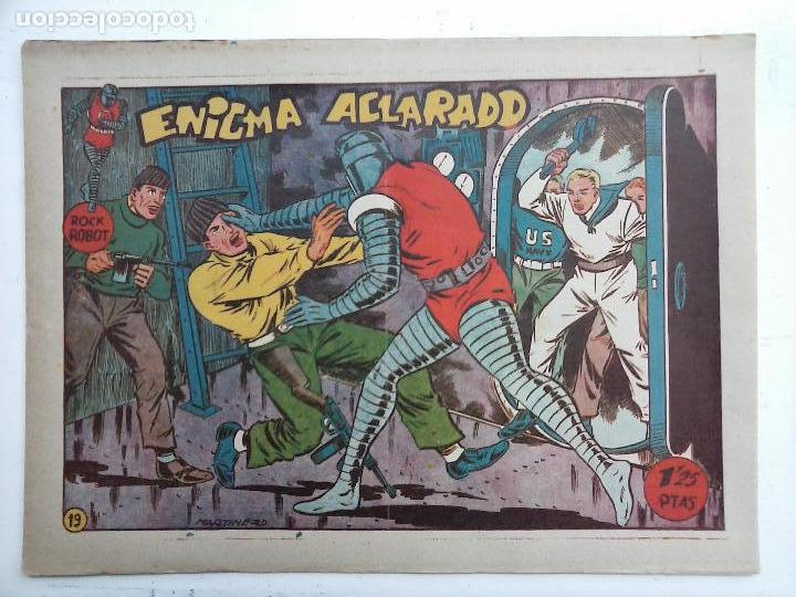 Tebeos: ROCK ROBOT ORIGINAL TORAY 1957 - 31 NºS MUY BUEN ESTADO, VER TODAS LAS PORTADAS - Foto 85 - 105049295