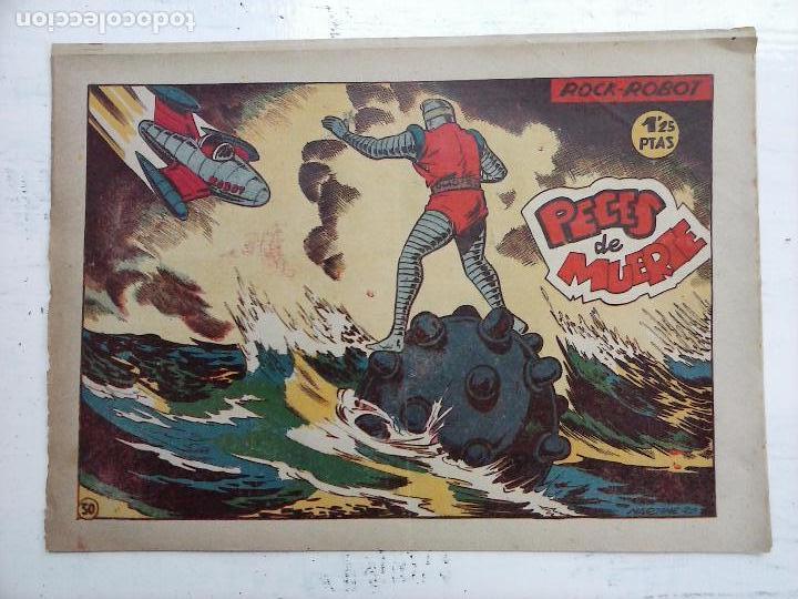 Tebeos: ROCK ROBOT ORIGINAL TORAY 1957 - 31 NºS MUY BUEN ESTADO, VER TODAS LAS PORTADAS - Foto 89 - 105049295