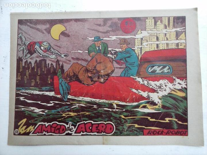Tebeos: ROCK ROBOT ORIGINAL TORAY 1957 - 31 NºS MUY BUEN ESTADO, VER TODAS LAS PORTADAS - Foto 91 - 105049295