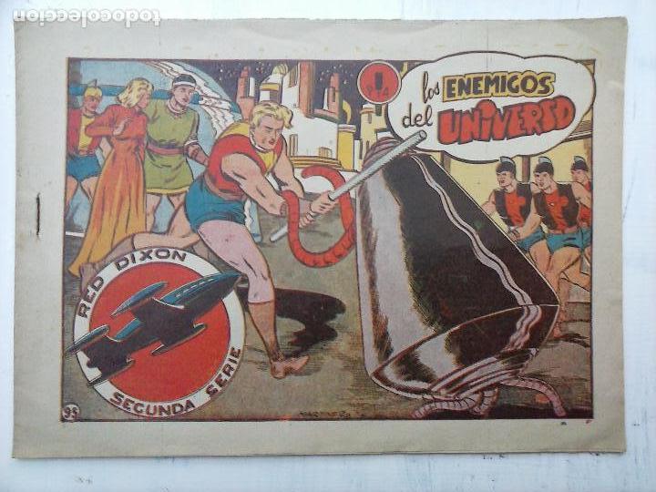 Tebeos: RED DIXON ORIGINAL SEGUNDA 2ª SERIE 1 AL 96 EN MAGNÍFICO ESTADO,VER TODAS PORTADAS Y CONTRAPORTADAS - Foto 2 - 105051131