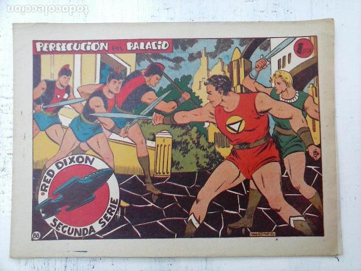 Tebeos: RED DIXON ORIGINAL SEGUNDA 2ª SERIE 1 AL 96 EN MAGNÍFICO ESTADO,VER TODAS PORTADAS Y CONTRAPORTADAS - Foto 9 - 105051131