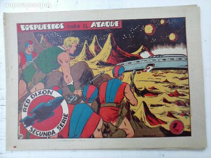 Tebeos: RED DIXON ORIGINAL SEGUNDA 2ª SERIE 1 AL 96 EN MAGNÍFICO ESTADO,VER TODAS PORTADAS Y CONTRAPORTADAS - Foto 12 - 105051131
