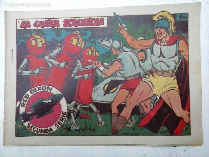 Tebeos: RED DIXON ORIGINAL SEGUNDA 2ª SERIE 1 AL 96 EN MAGNÍFICO ESTADO,VER TODAS PORTADAS Y CONTRAPORTADAS - Foto 57 - 105051131