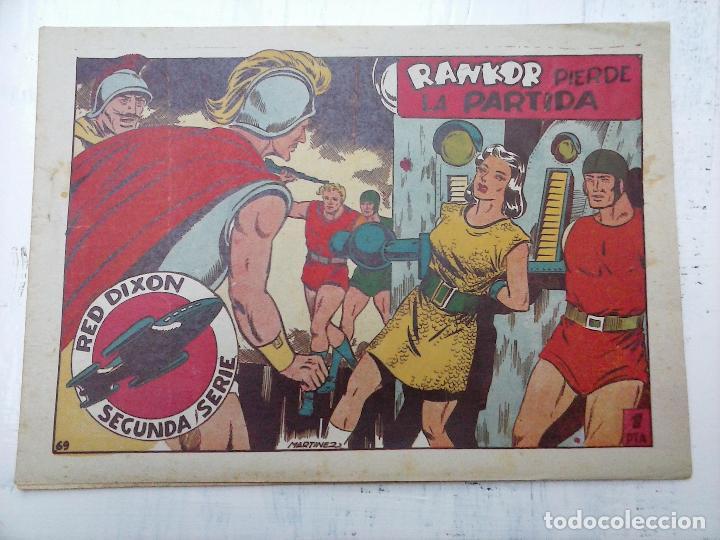 Tebeos: RED DIXON ORIGINAL SEGUNDA 2ª SERIE 1 AL 96 EN MAGNÍFICO ESTADO,VER TODAS PORTADAS Y CONTRAPORTADAS - Foto 67 - 105051131
