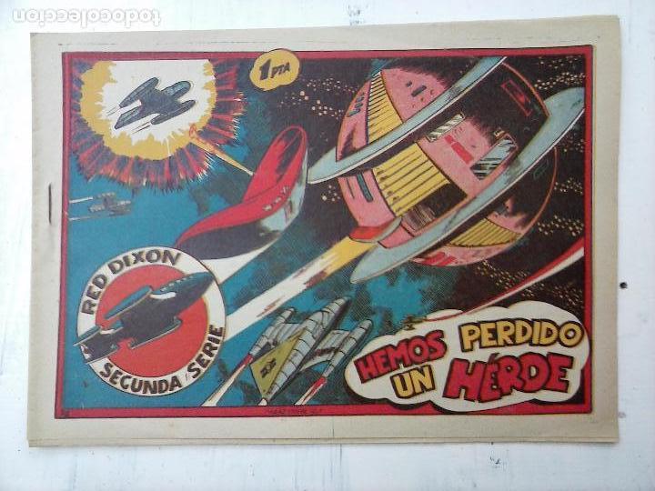 Tebeos: RED DIXON ORIGINAL SEGUNDA 2ª SERIE 1 AL 96 EN MAGNÍFICO ESTADO,VER TODAS PORTADAS Y CONTRAPORTADAS - Foto 78 - 105051131