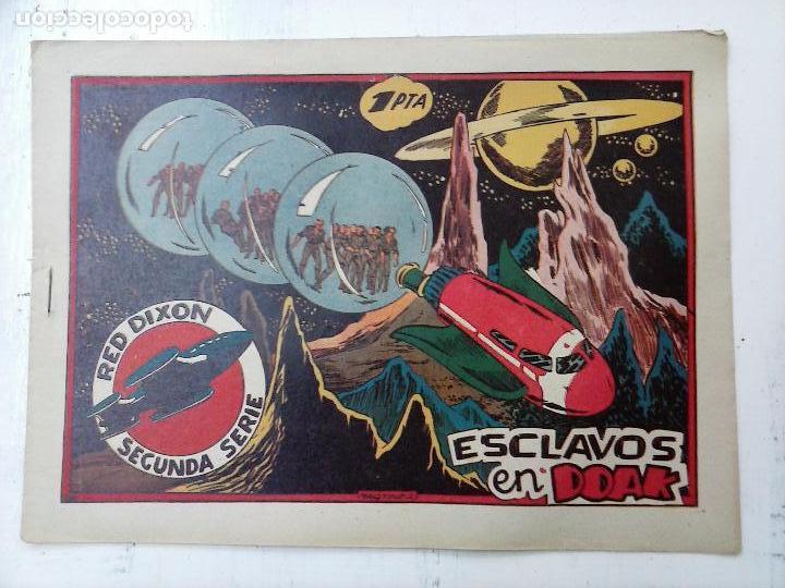 Tebeos: RED DIXON ORIGINAL SEGUNDA 2ª SERIE 1 AL 96 EN MAGNÍFICO ESTADO,VER TODAS PORTADAS Y CONTRAPORTADAS - Foto 79 - 105051131
