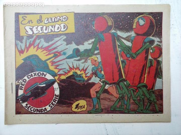 Tebeos: RED DIXON ORIGINAL SEGUNDA 2ª SERIE 1 AL 96 EN MAGNÍFICO ESTADO,VER TODAS PORTADAS Y CONTRAPORTADAS - Foto 137 - 105051131