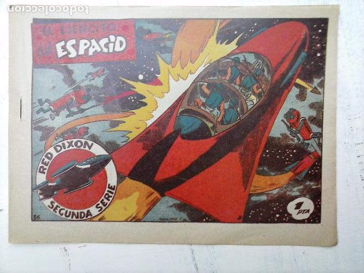 Tebeos: RED DIXON ORIGINAL SEGUNDA 2ª SERIE 1 AL 96 EN MAGNÍFICO ESTADO,VER TODAS PORTADAS Y CONTRAPORTADAS - Foto 144 - 105051131