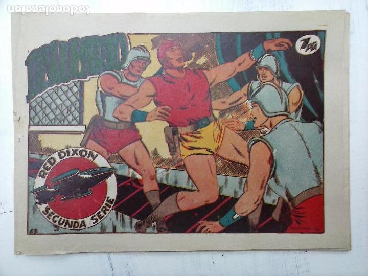 Tebeos: RED DIXON ORIGINAL SEGUNDA 2ª SERIE 1 AL 96 EN MAGNÍFICO ESTADO,VER TODAS PORTADAS Y CONTRAPORTADAS - Foto 163 - 105051131