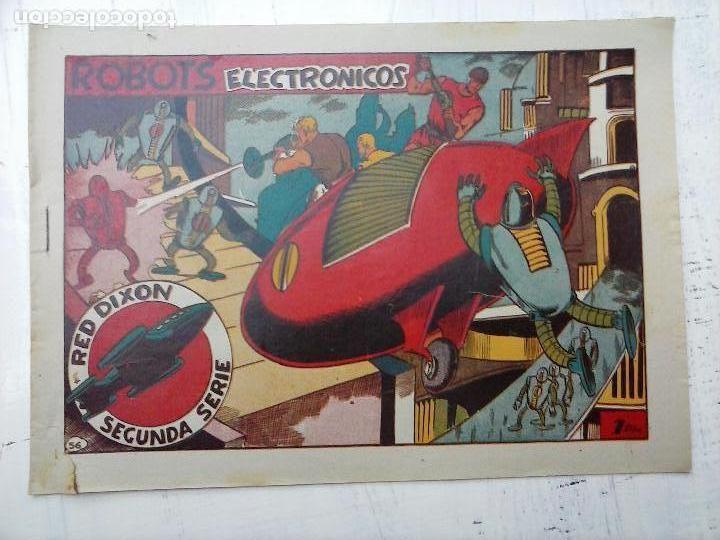 Tebeos: RED DIXON ORIGINAL SEGUNDA 2ª SERIE 1 AL 96 EN MAGNÍFICO ESTADO,VER TODAS PORTADAS Y CONTRAPORTADAS - Foto 182 - 105051131