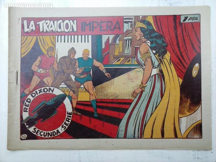 Tebeos: RED DIXON ORIGINAL SEGUNDA 2ª SERIE 1 AL 96 EN MAGNÍFICO ESTADO,VER TODAS PORTADAS Y CONTRAPORTADAS - Foto 193 - 105051131