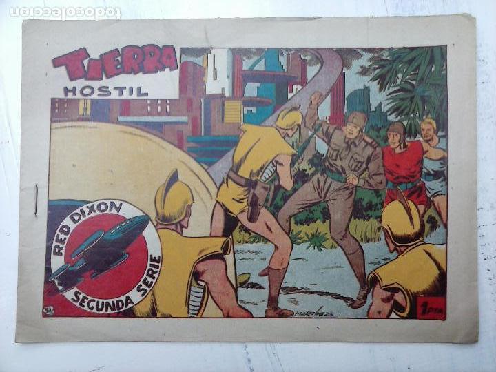 Tebeos: RED DIXON ORIGINAL SEGUNDA 2ª SERIE 1 AL 96 EN MAGNÍFICO ESTADO,VER TODAS PORTADAS Y CONTRAPORTADAS - Foto 196 - 105051131