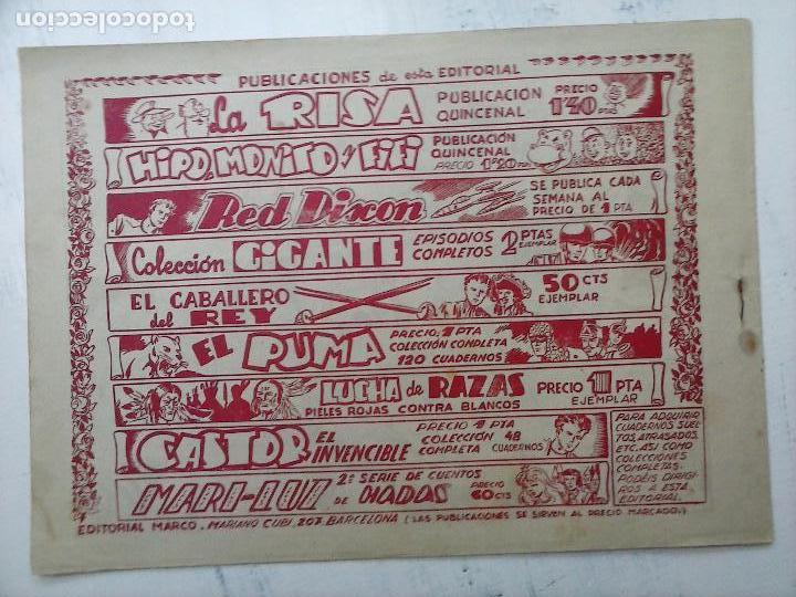Tebeos: RED DIXON ORIGINAL SEGUNDA 2ª SERIE 1 AL 96 EN MAGNÍFICO ESTADO,VER TODAS PORTADAS Y CONTRAPORTADAS - Foto 205 - 105051131