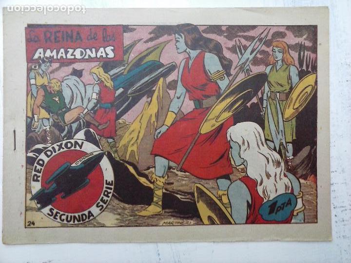 Tebeos: RED DIXON ORIGINAL SEGUNDA 2ª SERIE 1 AL 96 EN MAGNÍFICO ESTADO,VER TODAS PORTADAS Y CONTRAPORTADAS - Foto 238 - 105051131