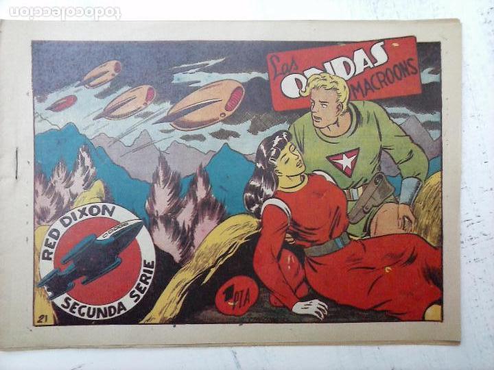Tebeos: RED DIXON ORIGINAL SEGUNDA 2ª SERIE 1 AL 96 EN MAGNÍFICO ESTADO,VER TODAS PORTADAS Y CONTRAPORTADAS - Foto 245 - 105051131