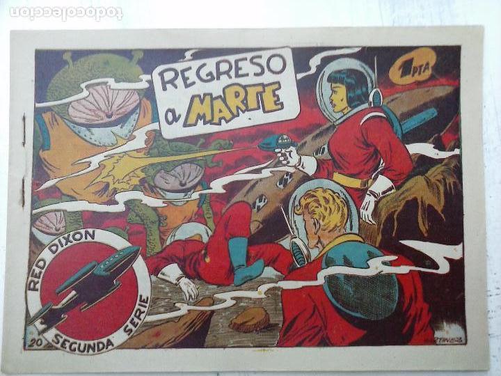 Tebeos: RED DIXON ORIGINAL SEGUNDA 2ª SERIE 1 AL 96 EN MAGNÍFICO ESTADO,VER TODAS PORTADAS Y CONTRAPORTADAS - Foto 248 - 105051131