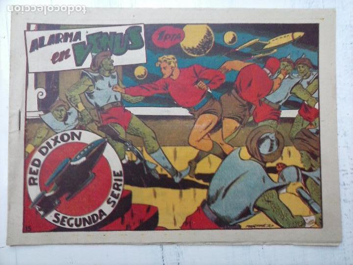 Tebeos: RED DIXON ORIGINAL SEGUNDA 2ª SERIE 1 AL 96 EN MAGNÍFICO ESTADO,VER TODAS PORTADAS Y CONTRAPORTADAS - Foto 263 - 105051131