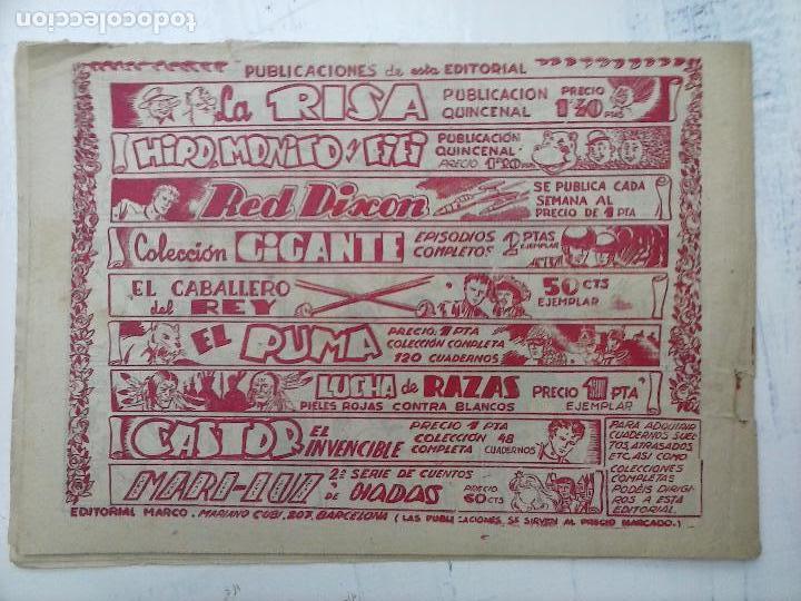 Tebeos: RED DIXON ORIGINAL SEGUNDA 2ª SERIE 1 AL 96 EN MAGNÍFICO ESTADO,VER TODAS PORTADAS Y CONTRAPORTADAS - Foto 274 - 105051131