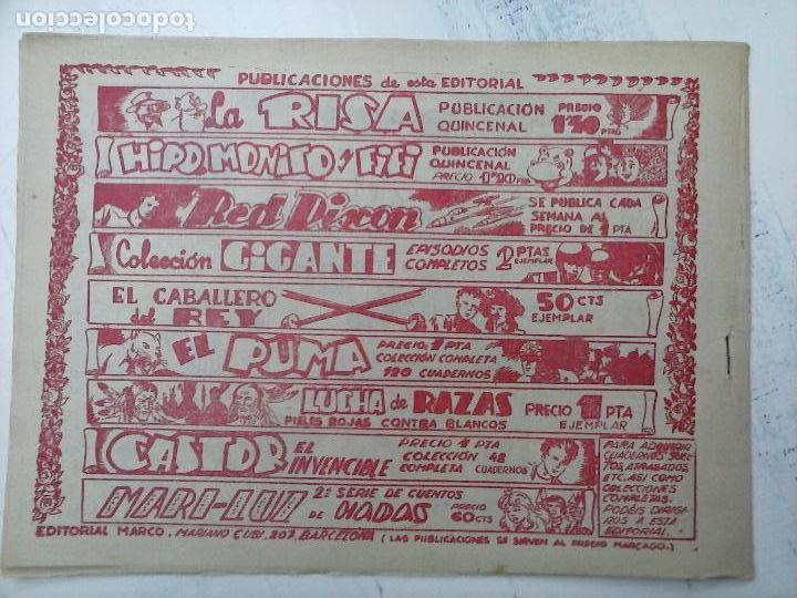 Tebeos: RED DIXON ORIGINAL SEGUNDA 2ª SERIE 1 AL 96 EN MAGNÍFICO ESTADO,VER TODAS PORTADAS Y CONTRAPORTADAS - Foto 280 - 105051131