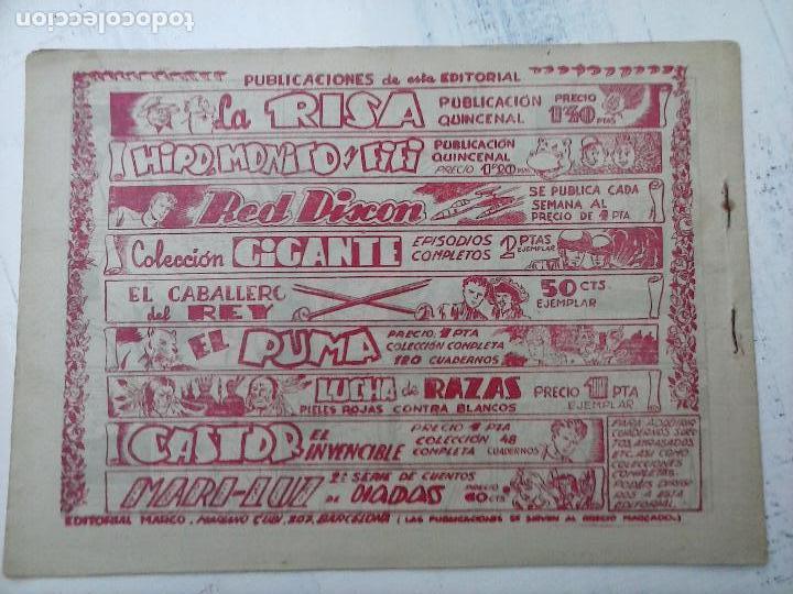 Tebeos: RED DIXON ORIGINAL SEGUNDA 2ª SERIE 1 AL 96 EN MAGNÍFICO ESTADO,VER TODAS PORTADAS Y CONTRAPORTADAS - Foto 284 - 105051131