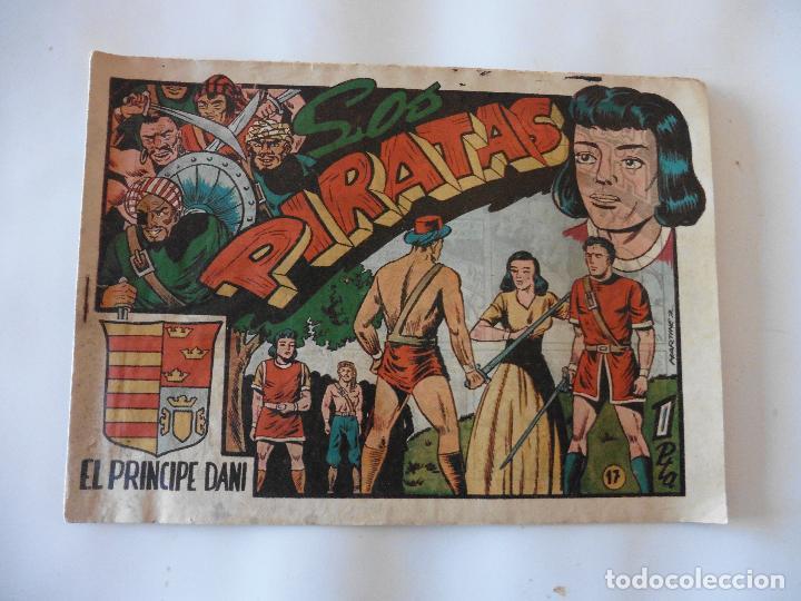 PRINCIPE DANI Nº 17 ORIGINAL (Tebeos y Comics - Marco - Otros)